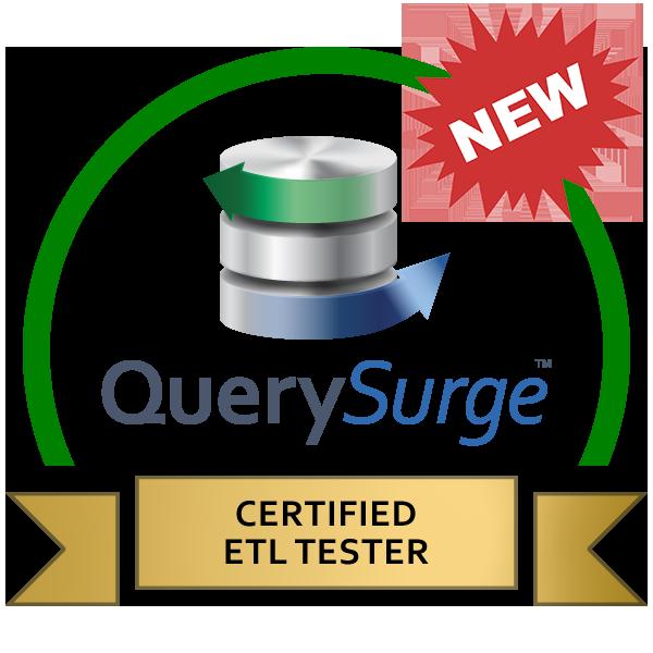 New certified etl tester green badge